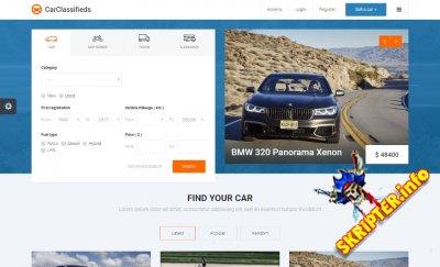 JM Car Classifieds v1.04 EF4 - шаблон сайта по продаже автомобилей для Joomla