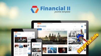 SJ Financial II v2.0.1 - шаблон сайта финансовых новостей для Joomla