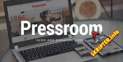 Pressroom v4.1 – тема WordPress для новостных сайтов