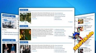Sj Mega K2 News v3.3.0 - модуль новостей для K2