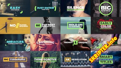Fresh Titles - Project for After Effects (Videohive)