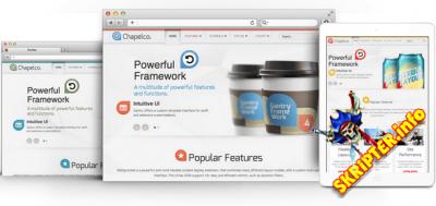 RT Chapelco v1.9 - корпоративный шаблона для Joomla
