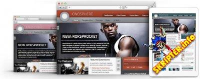 RT Ionosphere v1.13 - универсальный шаблон для Joomla