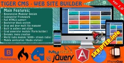Tiger CMS v1.0 - WebSite builder