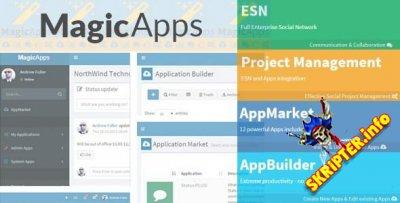 MagicApps v1.0 - Project Management+ESN+Apps+AppBuilder