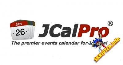 JCal Pro v4.3.20 - компонент календаря для Joomla