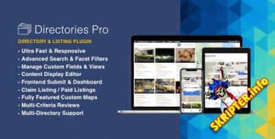 Directories Pro v1.2.2 - плагин каталога для WordPress