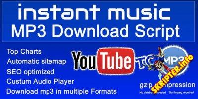 Instant Music v1.0 - скрипт загрузки с Youtube