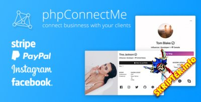 phpConnectMe v1.3.3 - кастомизация социальных профилей