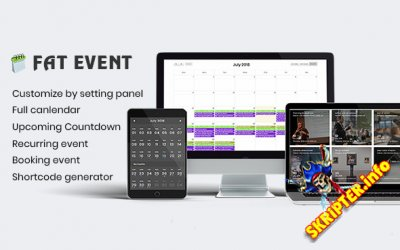 FAT Event v3.1 - календарь событий для WordPress