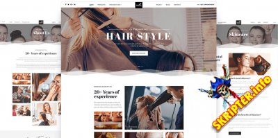 JS Salon v1.0 - шаблон сайта салона красоты для Joomla