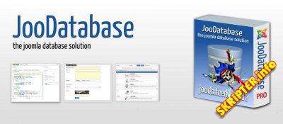 JooDatabase Pro v3.7.0 - управление базами данных Joomla