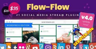Flow-Flow v4.0.3 - граббер контента из социальных сетей для WordPress
