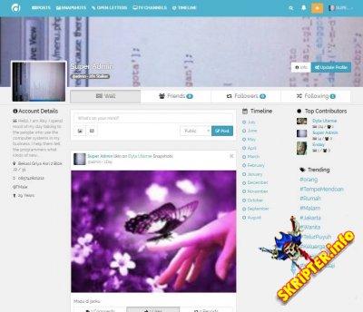 DWITRI Social Networking Script