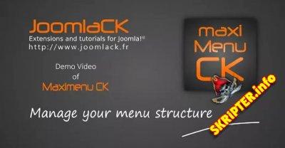 Maximenu CK v8.2.15 - адаптивное выпадающее меню для Joomla