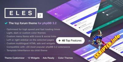 Eles v2.4.0 - отзывчивая тема для phpBB