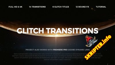 Glitch Transitions - Project for After Effects (Videohive)