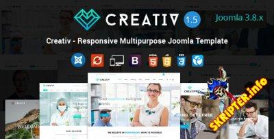 Creativ v1.5 - универсальный шаблон для Joomla