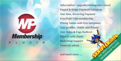 WP Membership v1.4.0 - платная подписка для WordPress