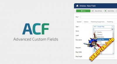 Advanced Custom Fields Pro v1.0.1 - расширенные пользовательские поля для Joomla