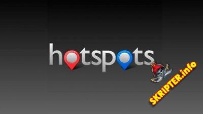 Hotspots v5.4.3 Rus - менеджер маркеров на картах от Google для Joomla