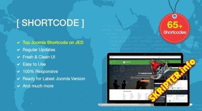 YT Shortcode v3.1.0 - плагин современных шорткодов для Joomla