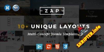 TF Zap v1.4 - многоцелевой шаблон для Joomla
