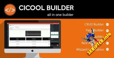 Cicool Builder v2.8.0 - конструктор веб-приложений