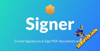 Signer v1.2 - создание цифровых подписей в PDF-документах
