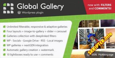 Global Gallery v6.32 - адаптивная галерея для WordPress