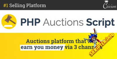 PHP Auctions Script v1.1.1 Nulled - скрипт аукциона
