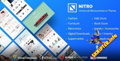 Nitro v1.7.7 Rus Nulled - WooCommerce шаблон для WordPress