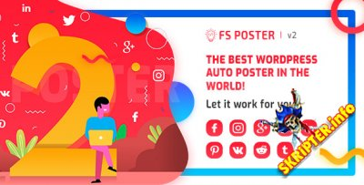FS Poster v2.2.1 - автопостер и планировщик для WordPress
