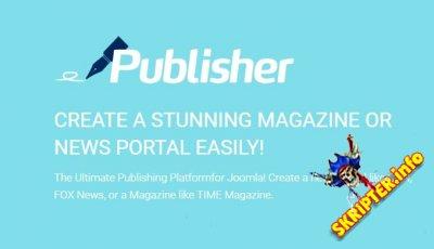 Publisher Pro v3.0.20 - готовая платформа для новостного портала на Joomla