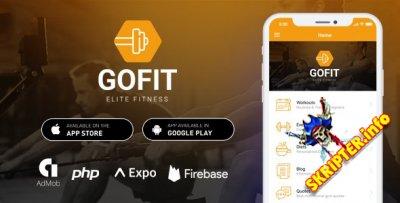 GoFit v1.0 - приложение для фитнеса