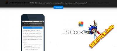 JS Cookie Alert v2.6.5 - модуль для работы с cookie в Joomla