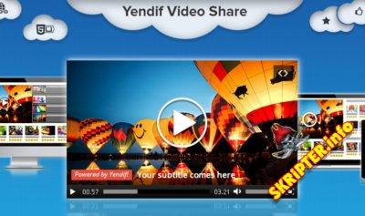 Yendif Video Share Pro v1.2.7 - компонент плеера для просмотра видео на Joomla
