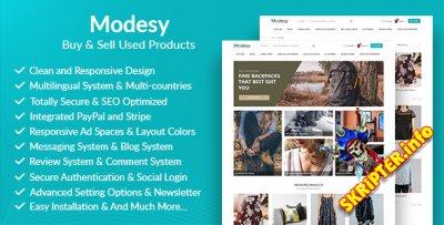 Modesy v1.0.1 - скрипт интернет магазина