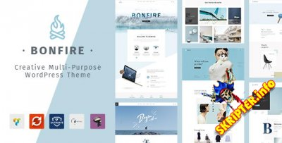 Bonfire v1.4.0 - многоцелевая тема для WordPress