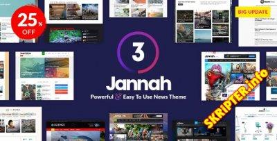 Jannah News v3.0.4 - новостная тема для WordPress