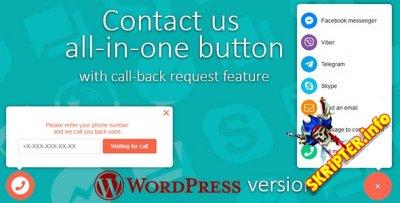 Contact us v1.3.2 - кнопка обратной связи для WordPress