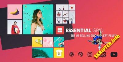 Essential Grid v2.3.3 - плагин WordPress для вывода контента