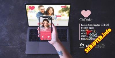 OKDate v3.2 - скрипт сайта знакомств