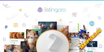 ListingPro v2.0.14.2 - тема каталогов и бизнес-справочников для WordPress