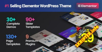 Phlox Pro v5.2.4 Rus Nulled - многоцелевая тема для WordPress