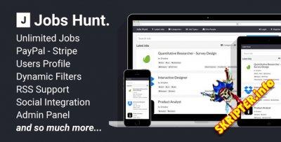 Jobs Hunt v1.3 - Скрипт поиска работы