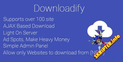 Downloadify v1.0 - скрипт загрузки видео