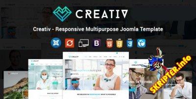 TF Creativ v1.6 - многоцелевой шаблон для Joomla