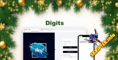 Digits v6.2 Rus - регистрация через смс для WordPress