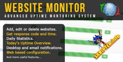 Website Monitor v1.4.4 - скрипт мониторинга работоспособности веб-сайта